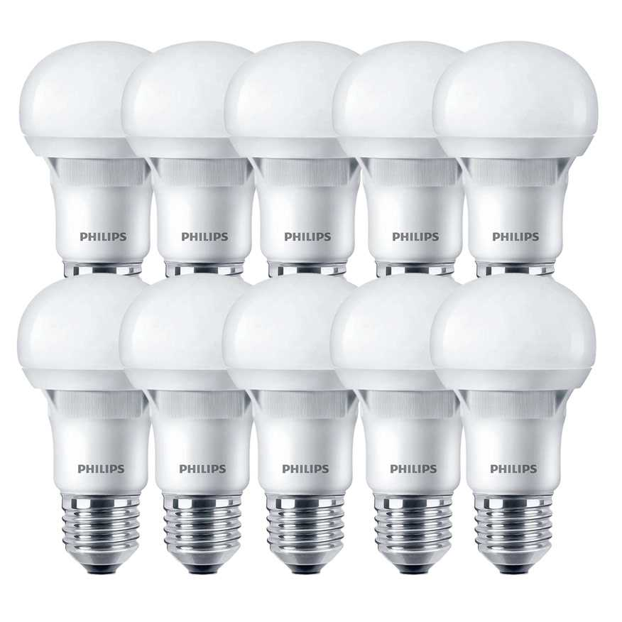 SIGNIFY-PHILIPS LAMPARA LED 9W PHILIPS BLANCO FRIO PACK X 10 BULBO E27