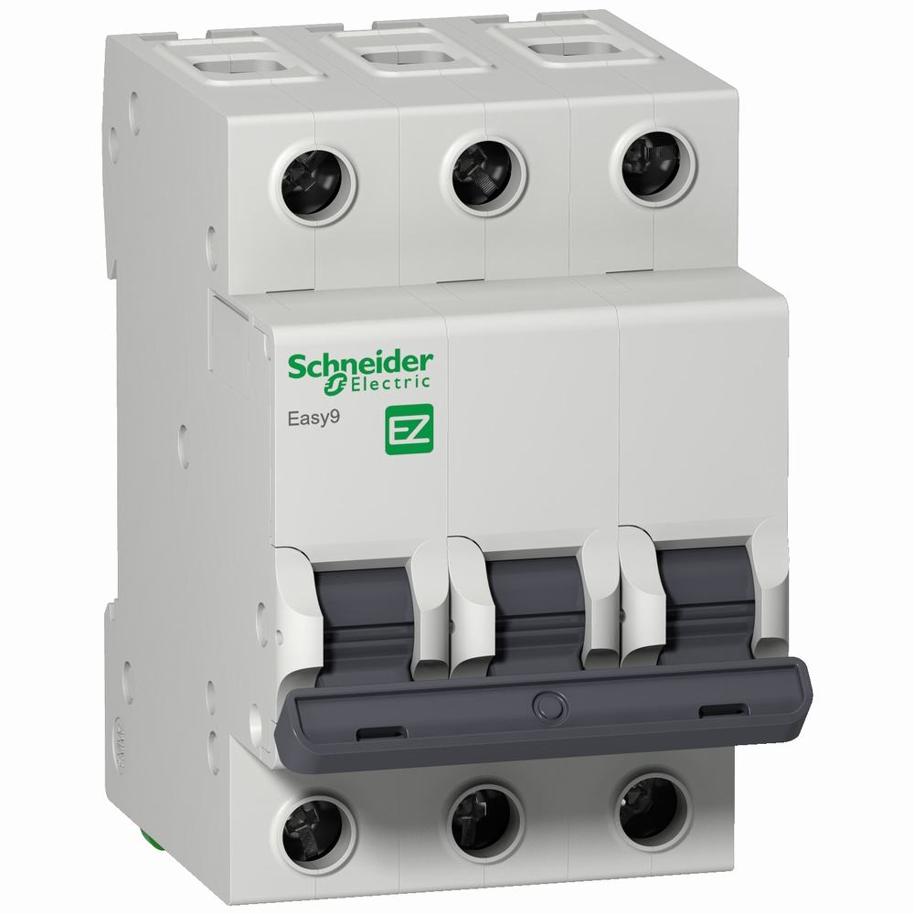 SCHNEIDER ELECTRIC INTERRUPTOR TERMOMAGNETICO EASY9 3X50A 4,5KA